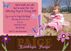 PRINTABLE Buggy Birthday Party Invite - Personalized by us with your custom text and PHOTO