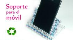 Manualidades: SOPORTE para el MOVIL reciclando cassette - Innova Manuali...