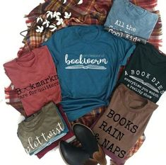 These Book Lover Tees are everything for your Fall Outfit!