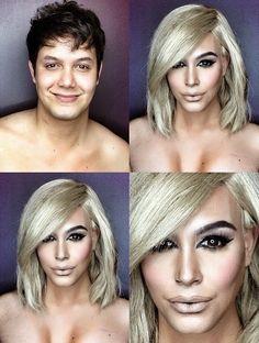 Imaginary World: Genio del maquillaje se transforma en bellas mujeres del mundo del espectáculo
