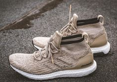 The adidas Ultra Boost ATR Mid has yet to release in stores, but we're getting some advanced looks at some colorways that you can expect to hit retail. This khaki pair is the latest to surface, as it comes packaged … Continue reading →