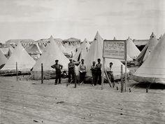 Jewish immigration camp in Tel Aviv, c. 1920. - Imgur