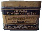 12+1 Uses for Cream of Tartar - WWII Series uses include, but not limited to, ITCHES, HEARTBURN, URINE INFECTIONS, BLOOD PRESSURE, ANT REPELENT AND CLEANING.  who knew?