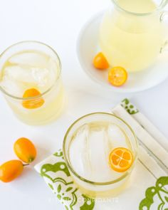 Kumquat Lemongrass Rum Cocktail | Kitchen Confidante | Cocktail