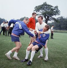 Detail of England International Football 1960s by Peter Sheppard