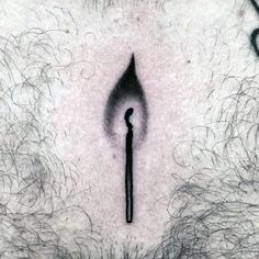 Match Head Guys Coolest Small Chest Tattoos