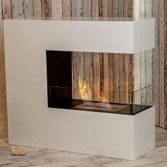 Might Work As Room Divider? Bodenkamin Bari, Bio-ethanol Kamin ... Ethanol Trennwand Kamin