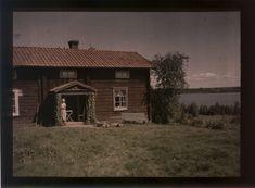 Nordiska museet - Fotograf Hertzberg, John Subtractive Color, Color Photography, Cabin, House Styles, Image, Beauty, Fotografia, Cabins