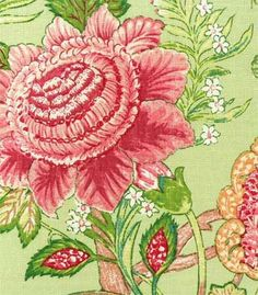 Fabric Idea.  Warehouse Fabrics Inc.  Adriana Apple. fabric fabric, surface design, surface pattern, floral