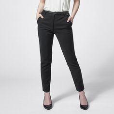 Dannii Minogue Petites Ankle Grazer Pants with Belt - Black | Target Australia