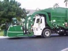 Garbage Trucks Part I video- my son is obsessed with garbage trucks now he can watch this over and over