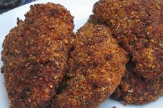 Black Pepper and Walnut Crusted Chicken Breasts