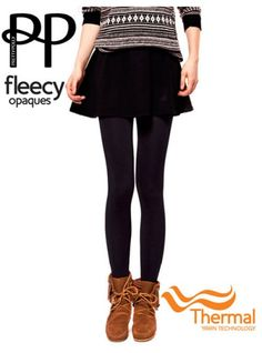 fab358a56a3cd Pretty Polly 200D Fleecy Opaque Thermal Tights - Pretty Polly - My Tights.com  Herfst