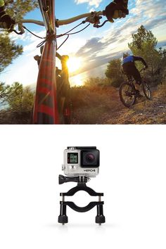 "Attach your GoPro to roll bars, tubes and more. Fits 1.4"" to 2.5"" (3.5cm to 6.35cm) diameter tubes. Perfect for clamping to the metal or plastic radiator cap of karts, or to bike frames, bumper bars, roof racks and more. The included 3-Way Pivot Arm makes it easy to aim the camera, so you can achieve the perfect angle for every shot. - See more at: http://shop.gopro.com/mounts/roll-bar-mount/GRBM30.html#/start=1"