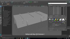 Baking inside Maya 2016 Extension 2
