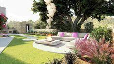 Σχεδιασμός κήπου Σχεδιασμός και  διακόσμηση κήπου με ιδιαίτερο  στυλ. 3d ANIMATION ΚΗΠΩΝ 3d Animation, Outdoor Furniture, Outdoor Decor, Sun Lounger, Garden Design, Patio, Home Decor, Chaise Longue, Decoration Home