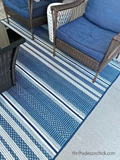 Did you know that you can power wash your outdoor rugs and furniture with a pressure washer?  See how at Thrifty Decor Chick! Thrifty Decor Chick, Most Satisfying, Outdoor Rugs, Helpful Tips, Washer, Cleaning Hacks, Diy Ideas, Outdoors, Life