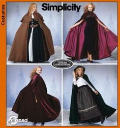 7100 Simplicity Schnittmuster Cape