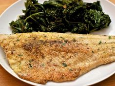 I've been daydreaming lately about going on a fishing trip. Maybe that's why I was drawn immediately to this recipe, which I imagine is the perfect recipe for a cast iron skillet and the freshest river trout known to man. The idea here is to use a fine cornmeal that will adequately coat the fish and give it a golden crunch on the outside.