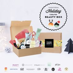 We are partnering with rated clean 0-3 beauty brand sponsors1 who support our mission to bring the most requested beauty box to you. Each box comes with 14+ hand-picked, rated clean beauty products, a full she-bang of Think Dirty swag goodies and lots of love. Valued at over $USD 300, specially offered to you for $USD 110!    The Think Dirty Clean Beauty box is the perfect gift for health-conscious significant others, hard-core yogi friends, or kale-loving besties. Or better yet, show…