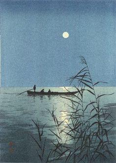Moonlit Sea - Shoda Koho