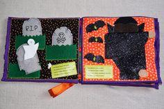 Halloween quiet book spook