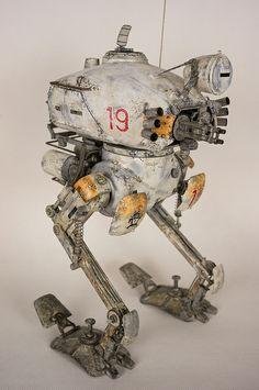 Ma.K. 1/20 scale Kröte. 3A × Kow Yokoyama. By  werjuststardust.  #Ma_K #Maschinen_Krieger #Krote - Flickr