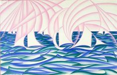 Giacomo Balla – Sails and sea