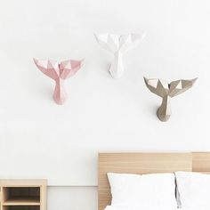 Geometric Paper Home Decorations You Can Fold Yourself Without Killing Animals