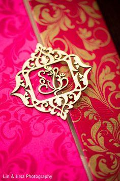 Gorgeous bright pink indian wedding invitations http://www.maharaniweddings.com/gallery/photo/130163