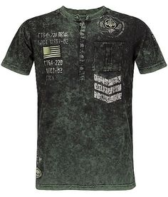 Affliction Spec A Henley