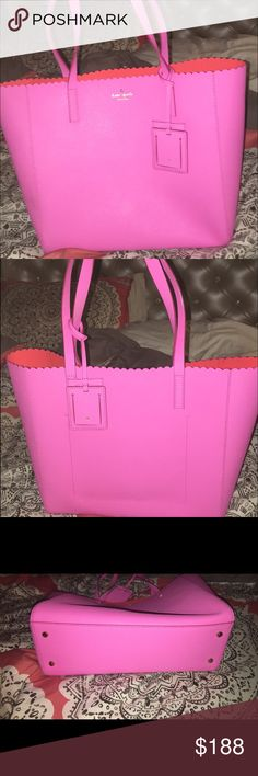 Kate spade tote In perfect condition. Worn twice kate spade Bags Shoulder Bags