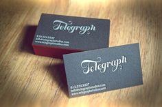 Design by Abduzeedo- Business Cards  @raw.abduzeedo.com & mustbeprinted.com
