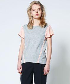 3.1 Phillip Lim WOMEN(スリーワン フィリップリム ウィメン)のlaundered cotton jersey(Tシャツ/カットソー)|グレー