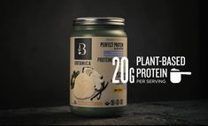 Perfect Protein Elevated Brain Booster   Herbs, Protein   Botanica Protein Blend, Protein Pack, Plant Protein, Sugar Free Vegan, Organic Quinoa, How To Calm Nerves, Adrenal Support, Organic Plants, Vanilla Flavoring