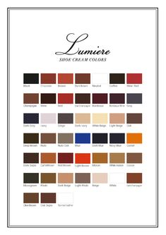 Lumière - the very intensive colors For ladies only!  HIGH-END leather care MADE IN JAPAN by Columbus Black Boots, Japan, Colors, How To Make, Leather, Shopping, Shoes, Okinawa Japan, Shoe