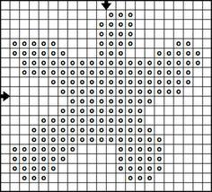Free Animals and Other Creatures Mini Motif Cross Stitch Pattern Collection : Free Cross Stitch Patterns - Starfish Cross Stitch Chart