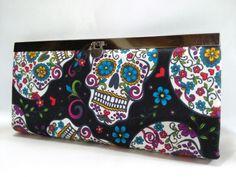 Carteira em cartonagem, produção artesanal e tecido importado!
