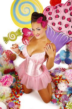 retro pinup candy shop - Google Search