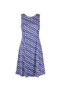 Christy Dress in Blue