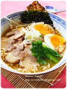 PANTIP.COM : D8314620 ......Tonkotsu Ramen......หมูชาชู ( Chashu ) สูตร 2 และTsuketamago ไข่ยางตูมเยิ้มๆค่ะ [การทำอาหาร]