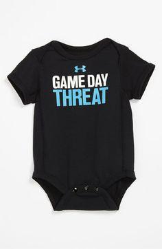 Under Armour 'Game' Bodysuit (Infant) | Nordstrom