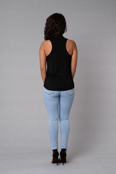 Trisha Top - Black