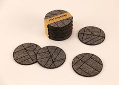felt_coasters_packaging2 Felt Coasters, Properties Of Materials, Architecture Design, Pure Products, Material Properties, Architecture Layout, Architecture Illustrations, Architecture