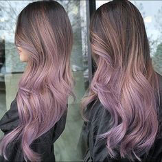 I love the #lilac, or #purple trend much more than the #silver movement. It creates happiness in ...