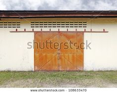 Find Facade Old Factory Warehouse Locked Grungy stock images in HD and millions of other royalty-free stock photos, illustrations and vectors in the Shutterstock collection. Sliding Door Systems, Sliding Doors, Entry Doors, Garage Doors, Industrial Door, Old Factory, Warehouse, Facade, Stock Photos