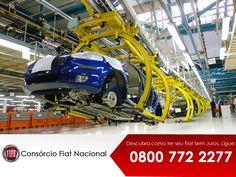 Nossos carros são fabricados com tecnologia de ponta. A Fábrica Fiat é a maior grupo industrial da Itália e um dos maiores do mundo, com operações industriais em mais de 60 países espalhados pelos cinco continentes do planeta. www.iconsorciofiat.com.br