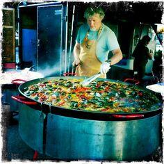 Gerard's Paella | Occidental Bohemian Farmer's Market (Fridays)