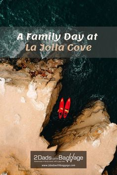 A Family Day At La Jolla Cove - 2 Dads with Baggage Best Vacation Destinations, Best Vacation Spots, Best Places To Travel, Best Vacations, Vacation Trips, Brockton Villa, Southern California Beaches, The Pancake House, La Jolla Cove