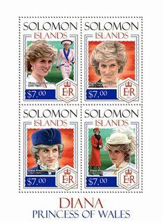 Diana de Gales,  Islas Salomón
